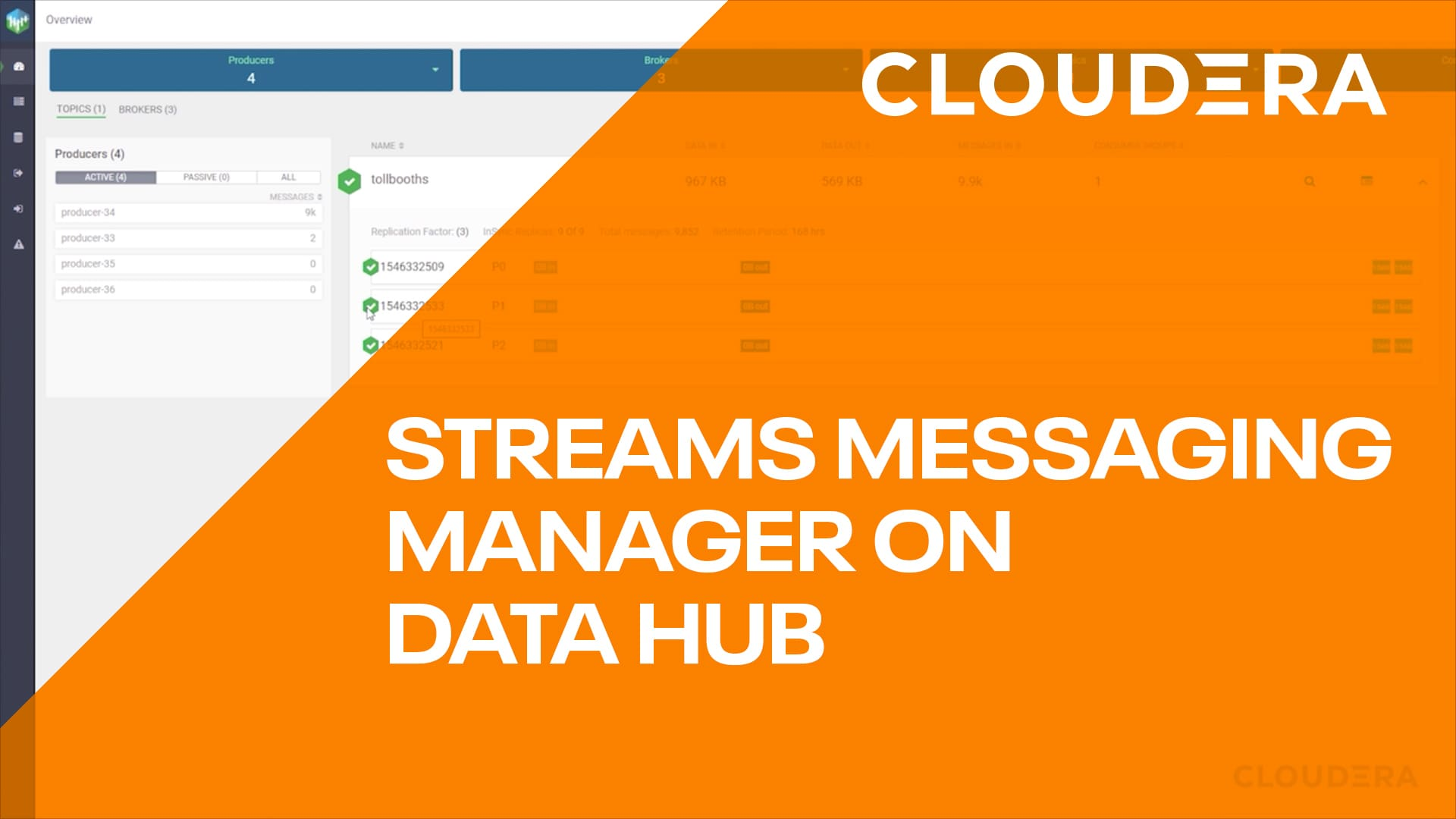 Streamings Messaging Manager on Data Hub in CDP